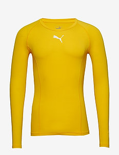 LIGA Baselayer Tee LS - yläosat - cyber yellow