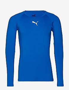 LIGA Baselayer Tee LS - termo undertrøje - electric blue lemonade