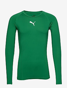 LIGA Baselayer Tee LS - base layer overdeler - pepper green