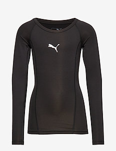LIGA Baselayer Tee LS Jr - PUMA BLACK