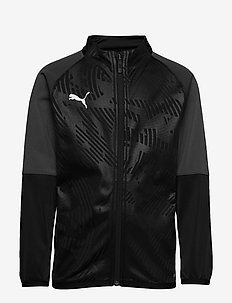 CUP Training Jacket Core Jr - PUMA BLACK-ASPHALT