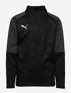 CUP Training 1/4 Zip Core Jr - PUMA BLACK-ASPHALT