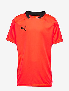 ftblNXT Shirt Jr - NRGY RED-PUMA BLACK