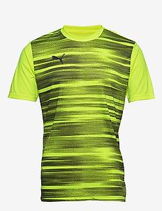 ftblNXT Graphic Shirt Core - YELLOW ALERT-GREY DAWN