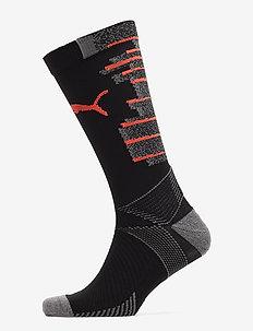 Team ftblNXT Socks - PUMA BLACK-NRGY RED