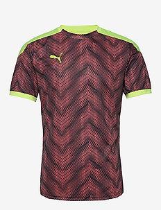 ftblNXT Graphic Shirt - topy sportowe - nrgy peach-fizzy yellow
