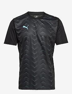ftblNXT Graphic Shirt Core - PUMA BLACK-LUMINOUS BLUE