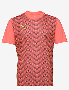 ftblNXT Graphic Shirt Core - football shirts - nrgy peach-fizzy yellow