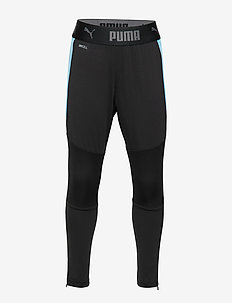 ftblNXT Pant Jr - puma black-luminous blue