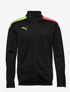 ftblNXT Track Jacket - track jackets - nrgy peach-fizzy yellow