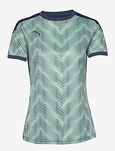ftblNXT Graphic Shirt W - DARK DENIM-MIST GREEN