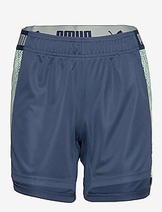 ftblNXT Shorts W - DARK DENIM-MIST GREEN