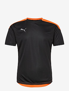 ftblNXT Shirt - football shirts - puma black-shocking orange
