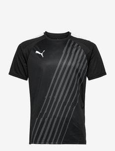 teamLIGA Graphic Jersey - topy sportowe - puma black-puma white