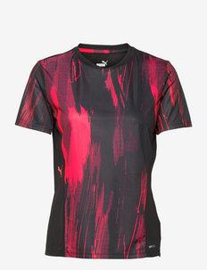 individualCUP Women Graphic Jersey - t-shirty - puma black-sunblaze