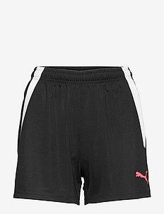 individualLIGA Women Shorts - treenishortsit - puma black-sunblaze