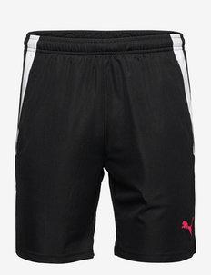 teamLIGA Training Shorts 2 (open pockets) - spodenki treningowe - puma black-sunblaze