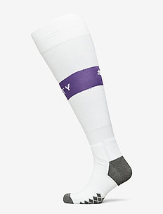 Team MCFC Band Socks - fotbollsstrumpor - puma white-tillandsia purple