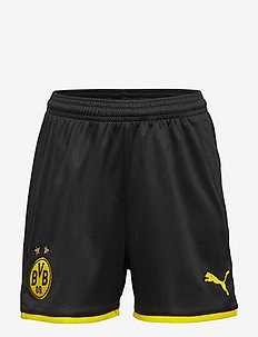 BVB Shorts Replica Jr - PUMA BLACK-CYBER YELLOW