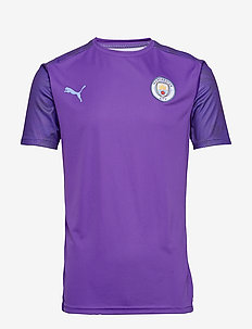 MCFC Training Jersey - TILLANDSIA PURPLE-TEAM LIGHT BLUE
