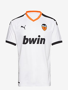 VCF Home Shirt Replica - football shirts - puma white-puma black-vibrant orang
