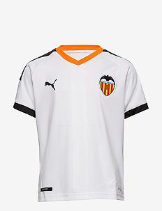 VCF Home Shirt Replica Jr - PUMA WHITE-PUMA BLACK-VIBRANT ORANGE