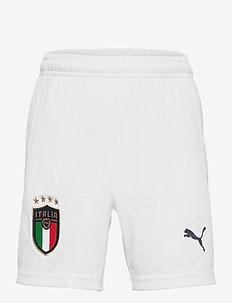 FIGC Home & Away Shorts Replica Jr - sport shorts - puma white-peacoat