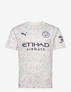 MCFC THIRD Shirt Replica SS with  Sponsor Logo - football shirts - whisper white-peacoat