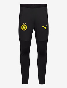 BVB Training Pants w/ zip pockets and zip legs - pantalon de sport - puma black