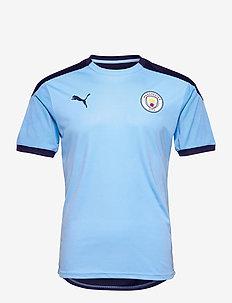 MCFC Training Jersey - football shirts - team light blue-peacoat