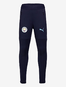 MCFC Training Pant w/ zip pockets and w/ zip legs JR - joggings - peacoat-team light blue