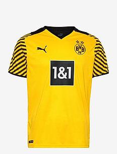 BVB HOME Shirt Replica w/ Sponsor - fotbollströjor - cyber yellow-puma black