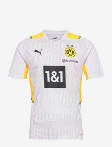 BVB Training Jersey w/ Sponsor - topy sportowe - puma white-cyber yellow