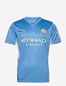 MCFC HOME Shirt Replica  with Sponsor Logo - t-shirts - team light blue-puma white