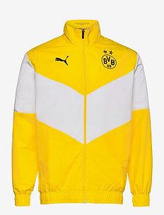 BVB Prematch Jkt - anoraker - cyber yellow