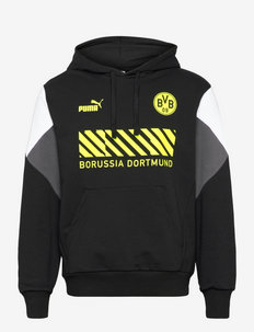 BVB FtblCulture Hoody - pulls a capuche - puma black-safety yellow