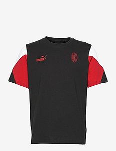 ACM FtblCulture Tee - t-shirts - puma black-tango red