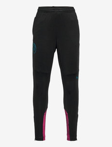 MCFC Training Pants Jr w/ pockets & zip legs (Retail) - sports pants - puma black-ocean depths