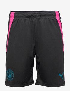 MCFC Training Shorts w/ pockets (Staff) - chaussures de course - puma black-ocean depths