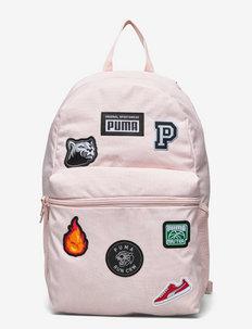 PUMA Patch Backpack - rugzakken - lotus
