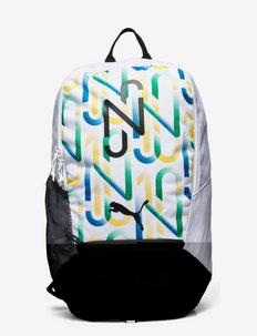 NEYMAR JR Backpack - rugzakken - puma white-puma black-amazon green-dandelion