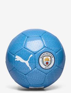 MCFC ftblCORE Fan Ball - sprzęt piłkarski - team light blue-puma white