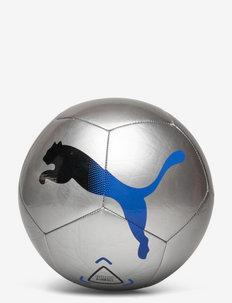 Puma ICON ball - fotballutstyr - metallic silver-bluemazing-puma black