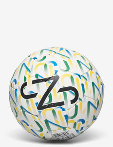 Neymar Jr Graphic mini ball - sportartikelen - puma white-dandelion-amazon green-puma black
