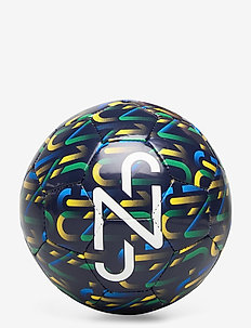 NJR Fan Graphic mini ball - fotballutstyr - peacoat-dandelion-jelly bean-white