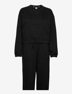 Loungewear Suit - pyjamas - puma black