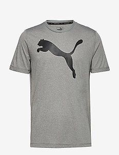 Active Big Logo Tee - t-shirts - medium gray heather