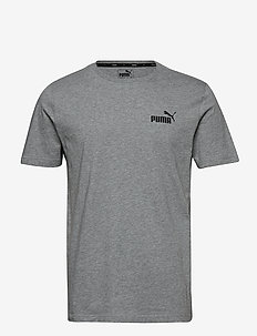 ESS Small Logo Tee - MEDIUM GRAY HEATHER