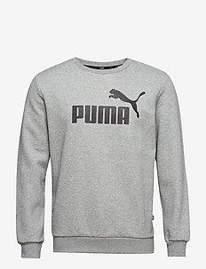 ESS Logo Crew Sweat FL Big Logo - sweatshirts - medium gray heather