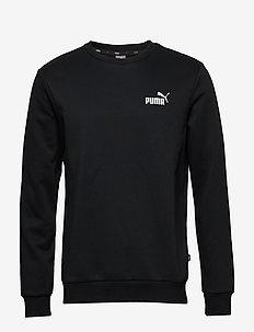 ESS Logo Crew Sweat FL - sweatshirts - puma black
